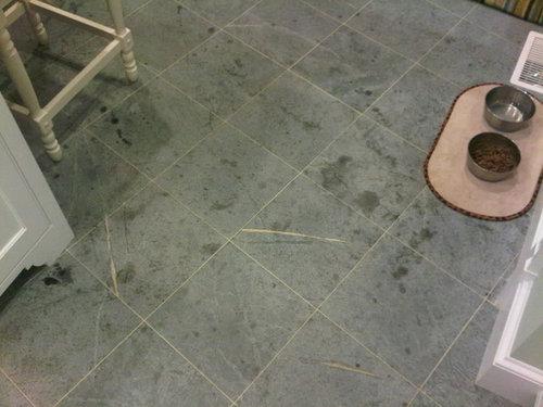 Soapstone Kitchen Floor Problems