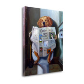 """Dog Gone Funny"" By Lucia Heffernan, Giclee Print on Gallery Wrap Canvas"