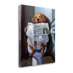 """""""Dog Gone Funny"""" By Lucia Heffernan, Giclee Print on Gallery Wrap Canvas"""