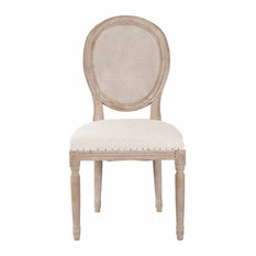 Oliver Dining Chairs, Stone Wash, Set of 2