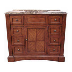 "Long Island 42"" Single Sink Vanity set"