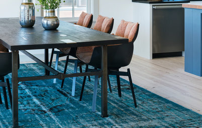 New Shop Houzz Up to Off Distressed and Overdyed Rugs