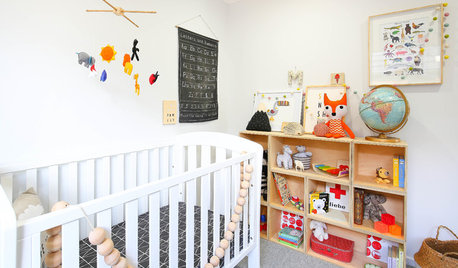 Stickybeak of the Week: A Playful Nursery With an Artistic Touch