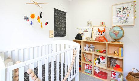 Chambre de bébé de la Semaine : Un espace ludique et arty