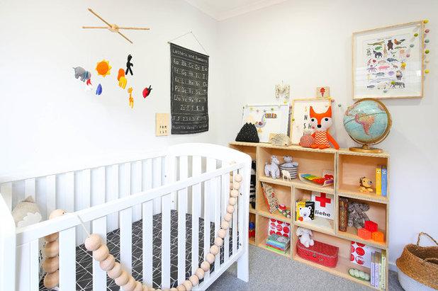 s es modernes babyzimmer mit kreativen details in australien. Black Bedroom Furniture Sets. Home Design Ideas