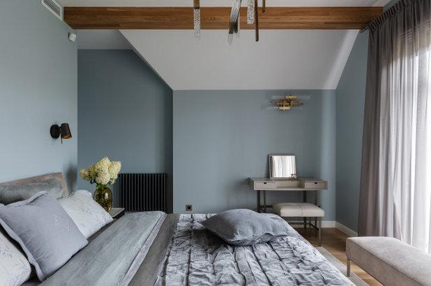 Современный Спальня by goro_da
