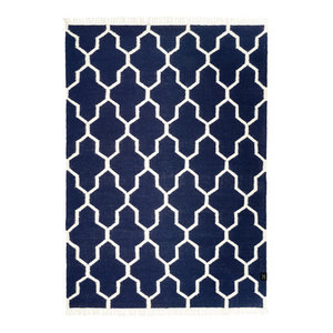 Classic Collection Tangier Area Rug, Navy Blazer, 200x140 cm