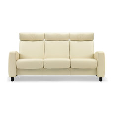 canap stressless arion blanc ambiance convivial fauteuil home cinema - Fauteuil Home Cinema