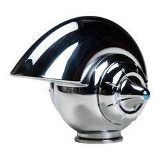 """Nautilus Vortex Electroplating Chrome Single Hole Faucet. 6.5L""""x5.0""""Hx5.0""""W"""