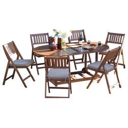 Beautiful Craftsman Outdoor Dining Sets by Outdoor Interiors