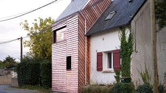 DOPPELGÄNGER - grande extension d'une petite maison