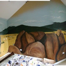 Safari Themed Bedroom and Murals