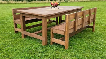 Craftsman Style Farm Table