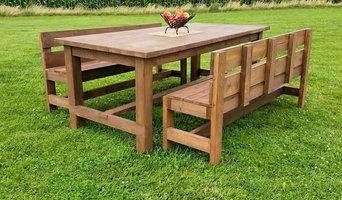 Craftsman Style Farm Table