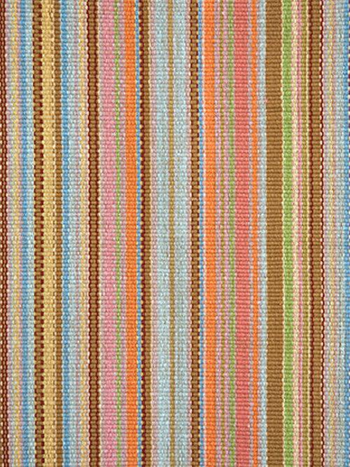 baumwollteppiche - Teppich Gelb Braun