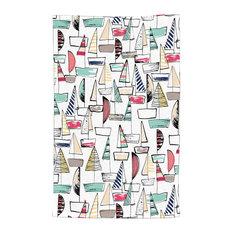 DiaNoche Designs - DiaNoche Kitchen Towels Metka Hiti - Sailboats - Dish Towels