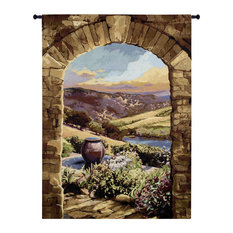 Tuscan Afternoon Large Wall Tapestry