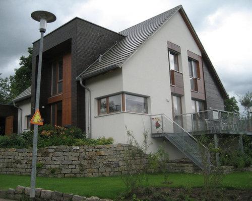 Fassade Mit Holz