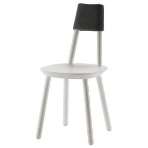Naïve Wooden Chair, White