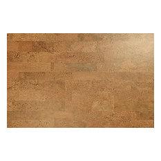 "Wicanders - 11.63""x35.63"" Corkcomfort Series 1000 Panel Identity, Set of 8, Spice - Cork Flooring"