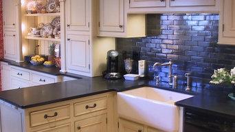 Beautiful Antiqued Farm Style Kitchen