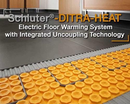 Schluter Ditra Heated Floor Reviews Floor Matttroy