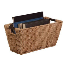 Honey Can Do - Large Seagrass Basket - Baskets