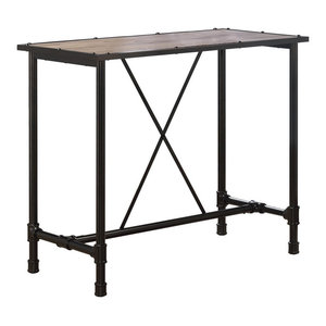 Frazier Counter Table Industrial Console Tables By