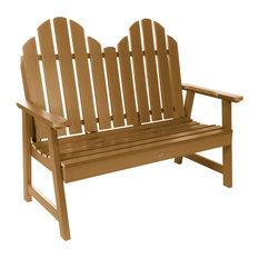 Classic Westport Garden Bench, 4', Toffee