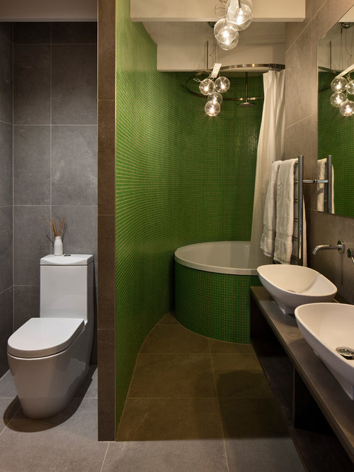 Auckland Bathroom Design Ideas Renovations Photos With A Two Piece Toilet