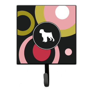 Black Russian Terrier Fall Leash Or Key Holder Bb9938sh4 Contemporary Wall Hooks By The Store