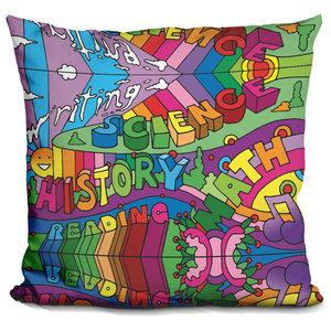 LiLiPi Pop-Art-Landscape-116 Decorative Accent Throw Pillow