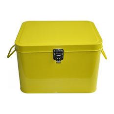 Oldschool Sewing Box, Yellow