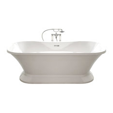 Fortisimo, White, Brushed Nickel