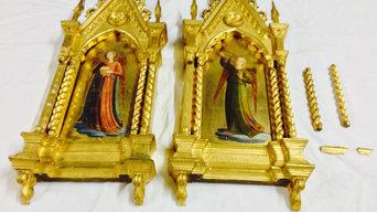 Conservación y Restauración de unos marcos góticos