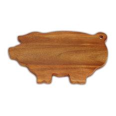 Pig Shaped Board, Acacia Wood