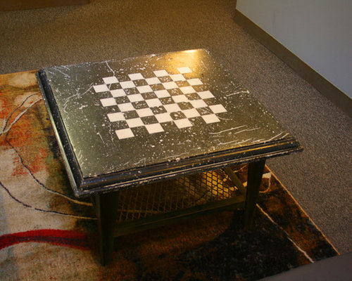 Concrete Chess Table Project