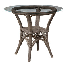 Panama Jack Seaside Stackable Dining Base With Glass