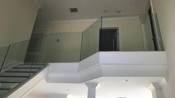Frameless Glass Railing Interior