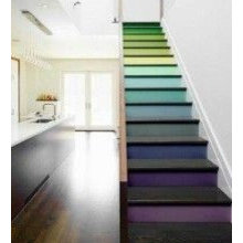painted stairs and stairwells