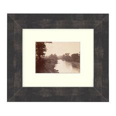 """Grasshopper Creek"" Sepia Tone Framed Photo, 22""X31"""