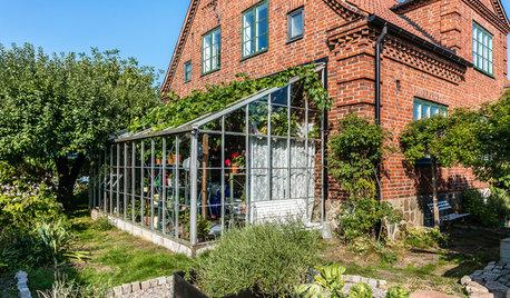 Houzz Tour: Fra gammel blomsterbutik til smuk familiebolig