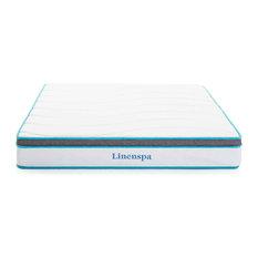 Linenspa - LINENSPA 8 Inch Memory Foam and Innerspring Hybrid Mattress, Twin Xl - Mattresses