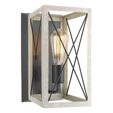 Briarwood Collection 1-Light Wall Sconce, Graphite