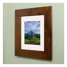 """Concealed Picture Frame Medicine Cabinet, Caramel, 14""""x18"""""""