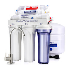 iSpring RCC7AK 6-Stage Alkaline Mineral 75GPD Reverse Osmosis RO Water System