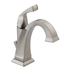Dryden Single-Handle Faucet With Lever Handles, SpotShield Stainless
