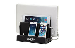 Monogrammed Multi-Device Charging Station and Dock, F