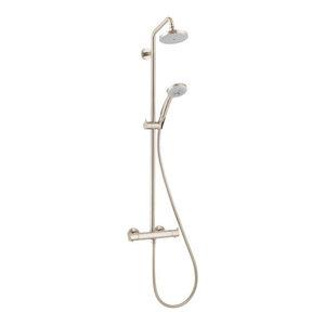 Hansgrohe 27169821 Showerpipe Brushed Nickel Exposed Shower Trim