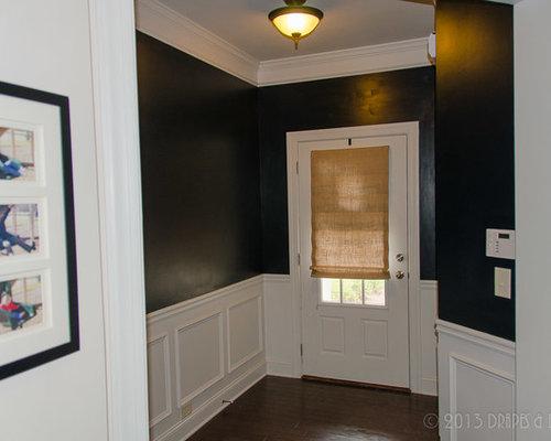 shades for front doorBurlap Roman Shades Family Room Alpharetta GA